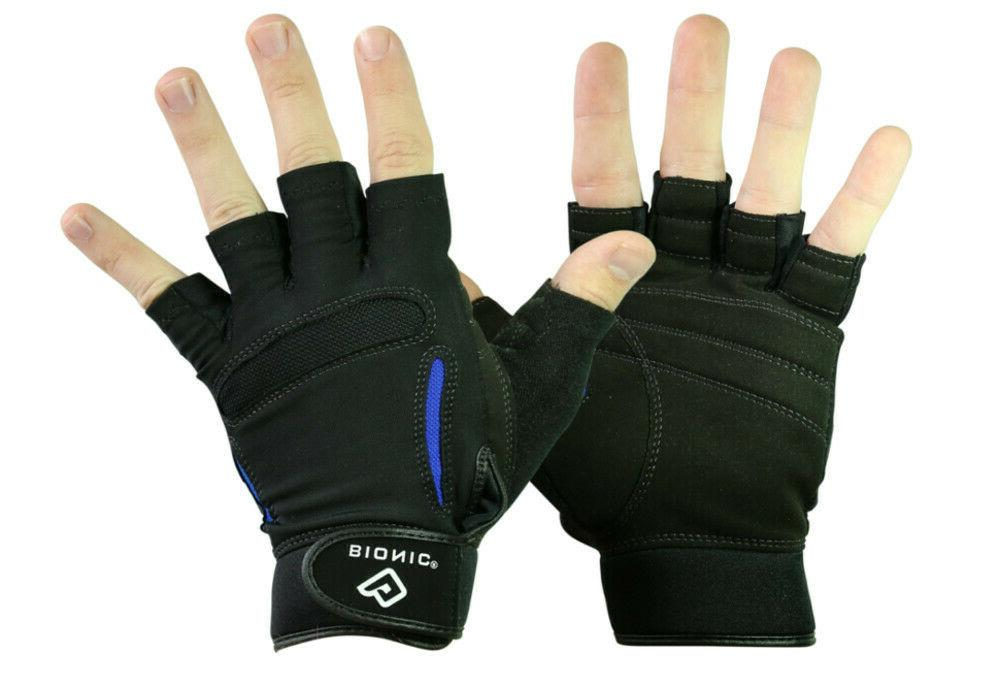 men s relief grip fitness fingerless srg