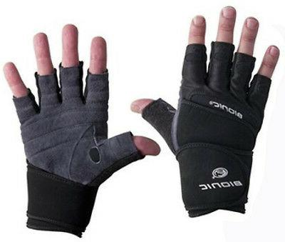 men s wrist wrap fitness gloves