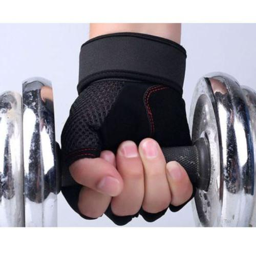 Men Weightlifting Sports Fitness Wrap Workout Exercise