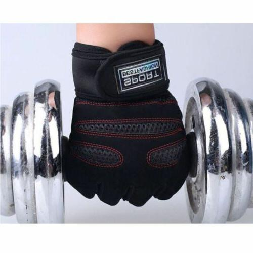 Men Gym Sports Fitness Workout Gloves