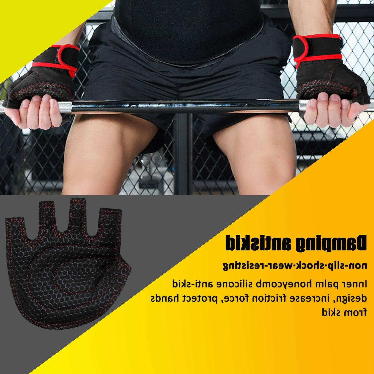 Men Support Workout Wrist Wrap Lifting Fitness Exercise