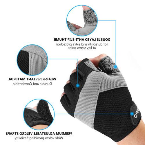 HOMPO Lifting Gloves Training Sports Workout Gloves