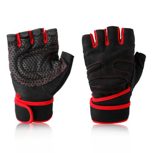 Men Womens Gym With Wrist Wrap For Weight
