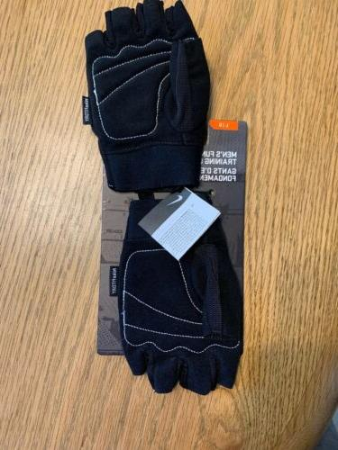 Nike Weightlifting Gym Gloves Black New