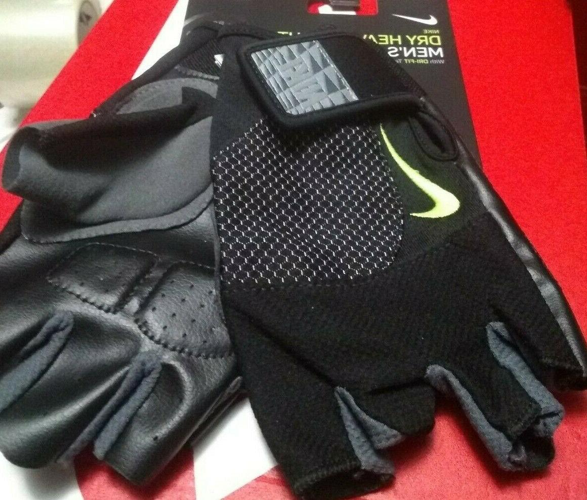 new mens dry heavyweight training weightlifting gloves