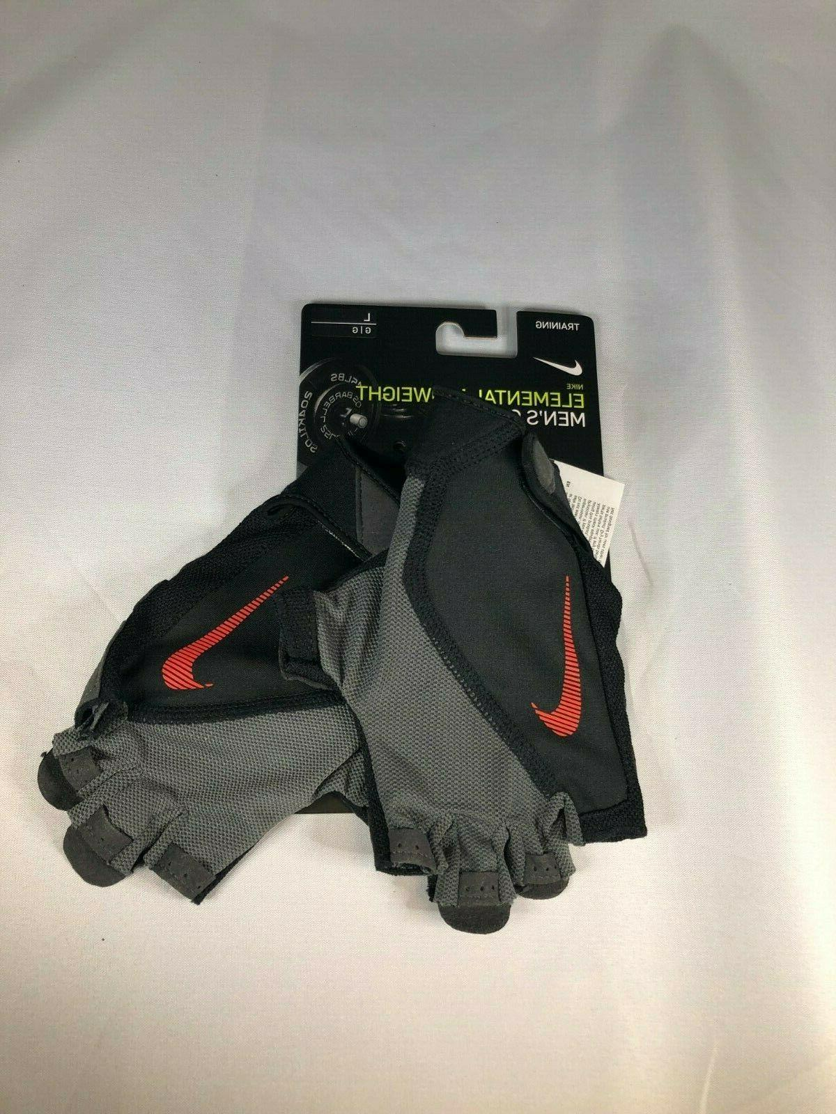 new mens elemental midweight weightlifting training gloves