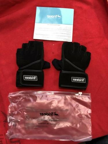 new padded workout weight lifting gloves size