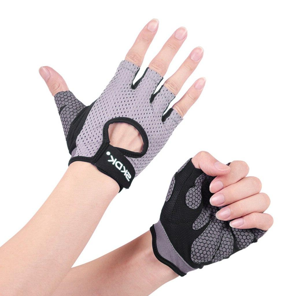New <font><b>Lifting</b></font> <font><b>Gloves</b></font> Full Palm Protection For Pull-up Weightlift luvas