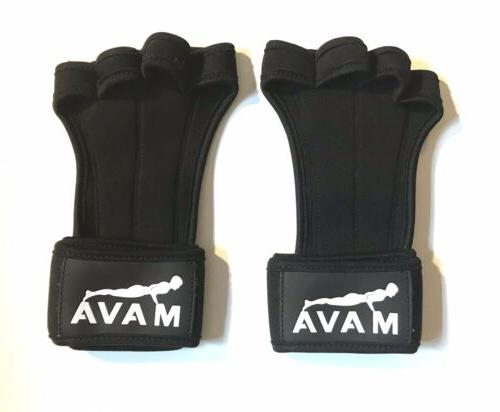 new weight lifting gloves silicone grip size