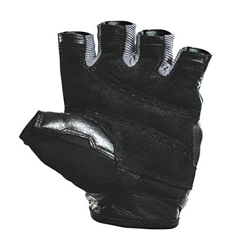 Harbinger Pro Non-Wristwrap Gloves Leather ,