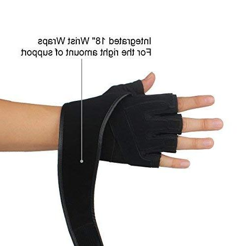 Trideer Weight Gloves with Wrist Wraps Gloves for Training, for Men Women )