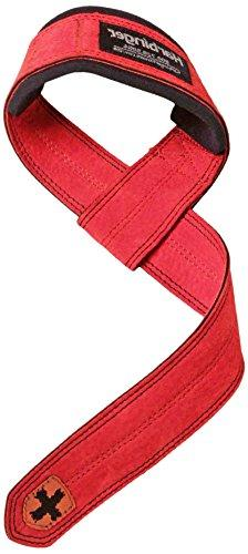 padded leather lifting straps