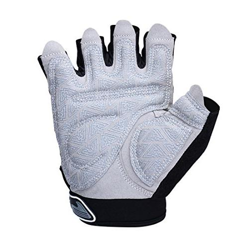 Padded Weight Gloves for Gym Training, and