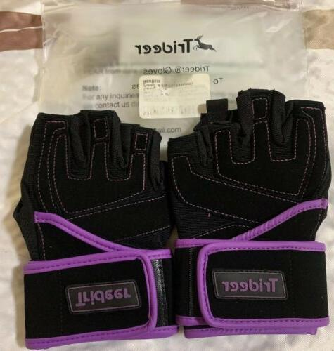 padded weight lifting gloves w 18 wrist