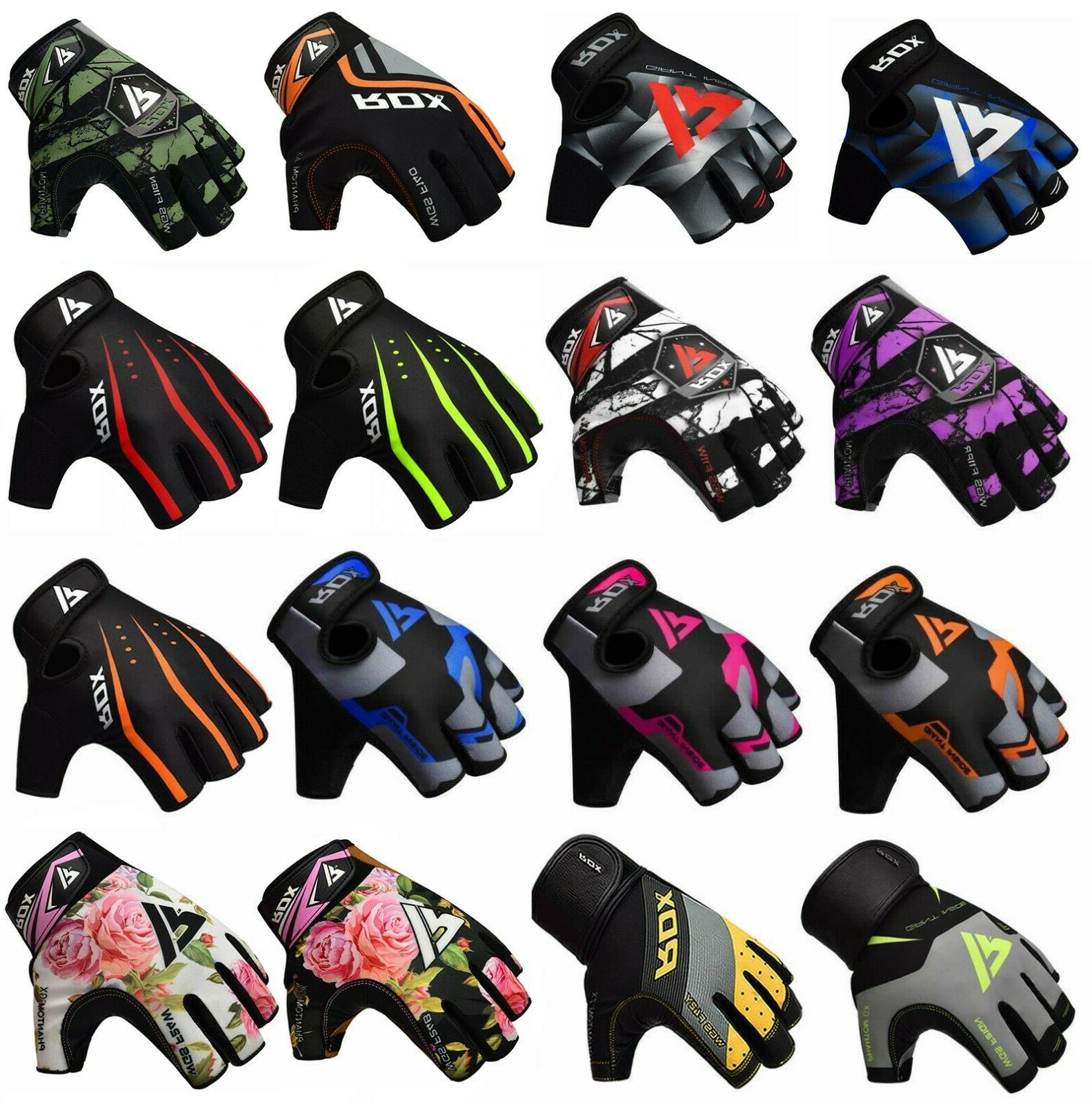 power weight lifting training gym gloves straps