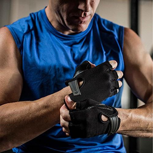 Harbinger Power Non-Wristwrap Gloves with and