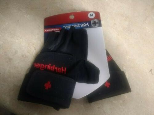 pro gloves weight lifting workout m new
