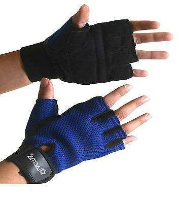Pro Padded Gloves Wear Exercise Cycling