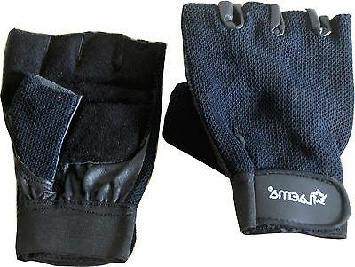 Pro Padded Gloves Gym Exercise Workout Cycling