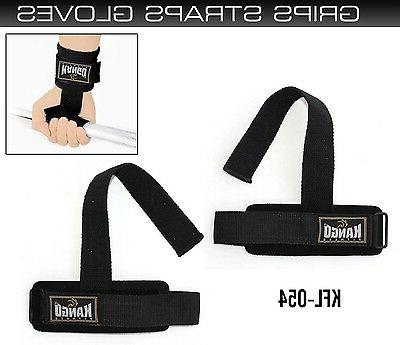 pro weight lifting gym straps hand bar
