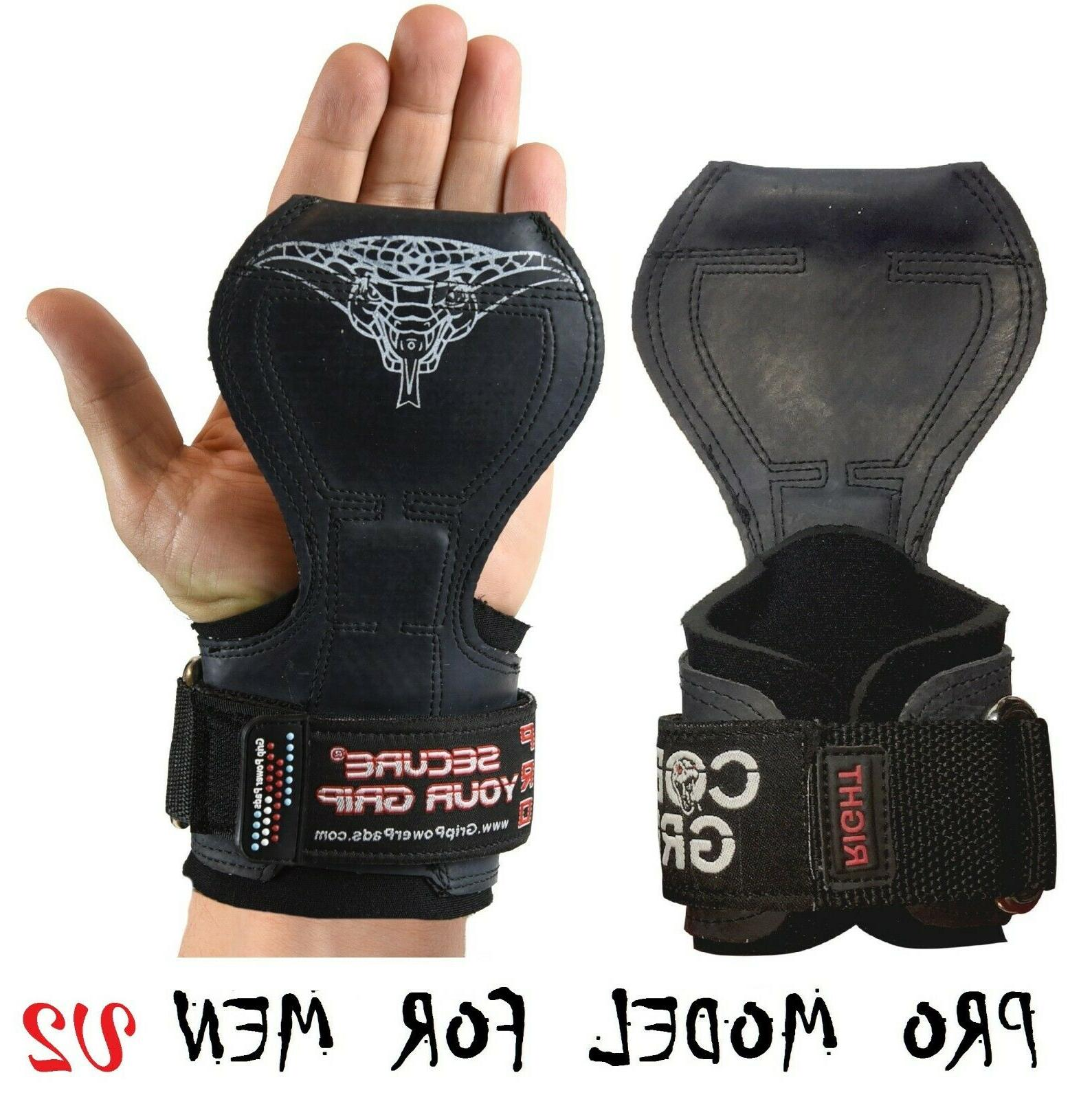 pro weightlifting straps gloves power lifting metal