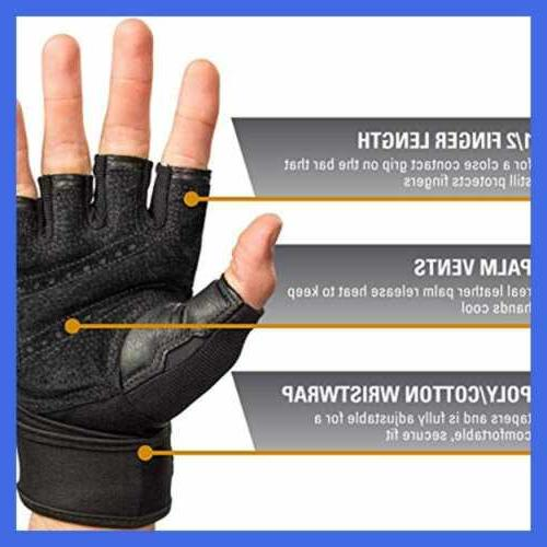 Harbinger Weightlifting Gloves W Leather Pai
