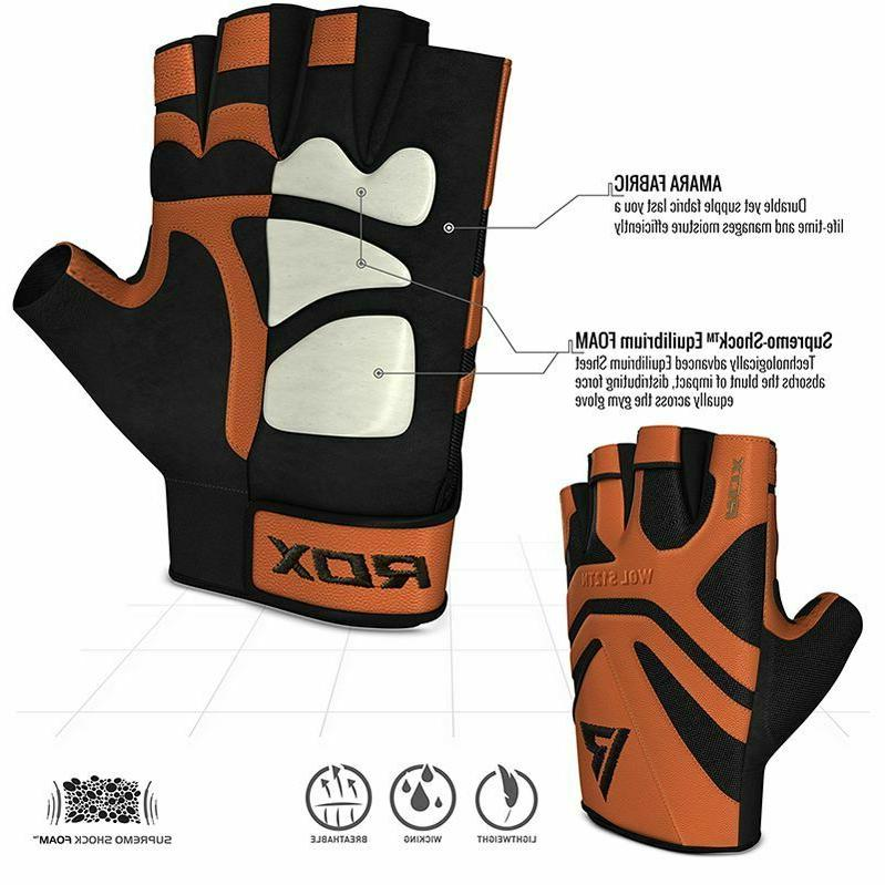 RDX S12 Workout Gloves, Sizes/Colors