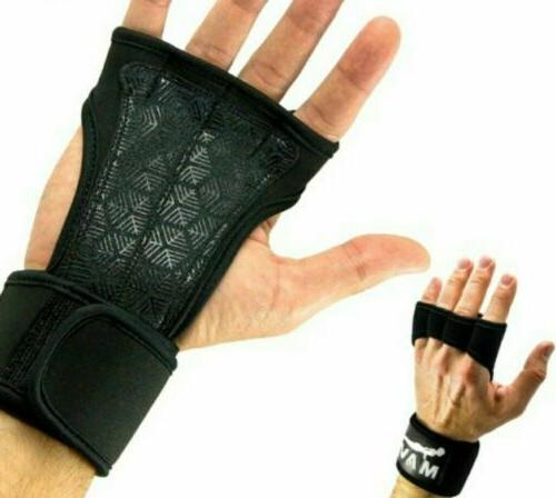 silicone padding cross training gloves