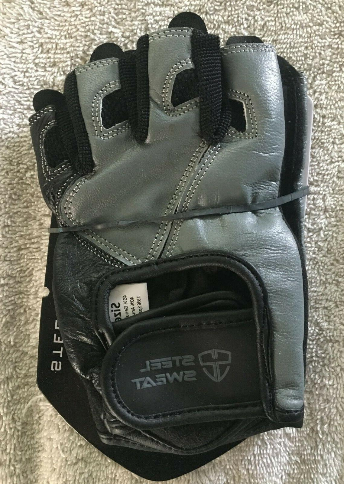steel sweat scarr gloves s small workout