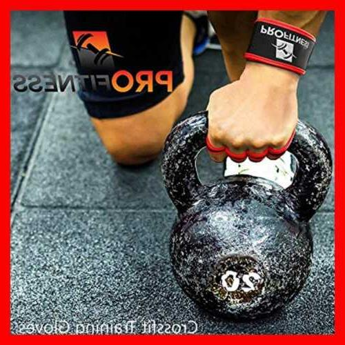 Profitness Gloves Wrist Workout Lifting Wraps For