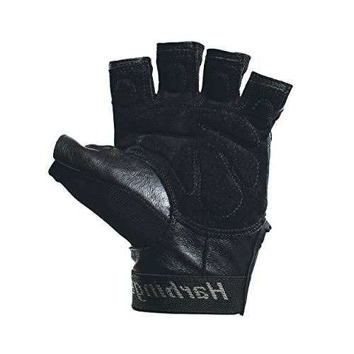 Harbinger Training Weightlifting Leather Palm ,