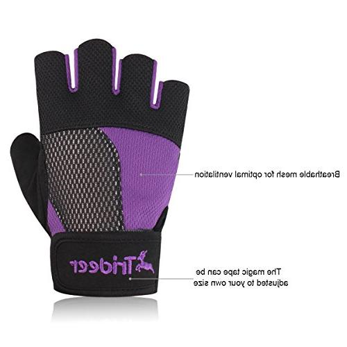 Women's Weight Lifting Glove For Powerlifting Cross