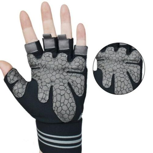 Unisex Weightlifting Gloves Gym Exercise Bodybuilding
