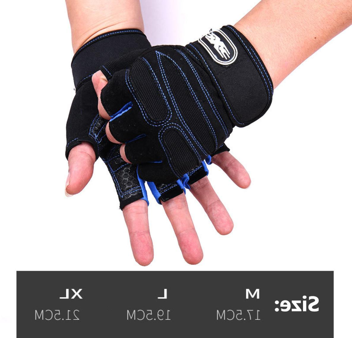 US Women/Men Gym Gloves With Weight