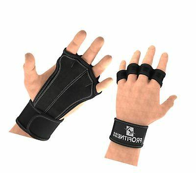 ventilated cross training gloves with wrist support