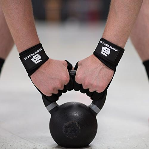 New Ventilated Weight Gloves with Built-In Wraps, Protection & Extra Great for Pull Training, & Weightlifting. Men Women
