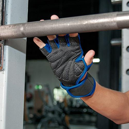 Ventilated with Wrist Wrap Support for & 5 Colors, Palm Calluses. Perfect Cross Training WODs -