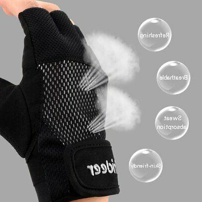 Trideer Weight Breathable & Non-Slip, Exercise Gloves