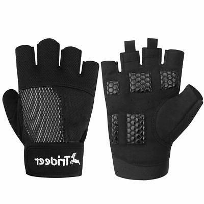 weight lifting gloves breathable and non slip