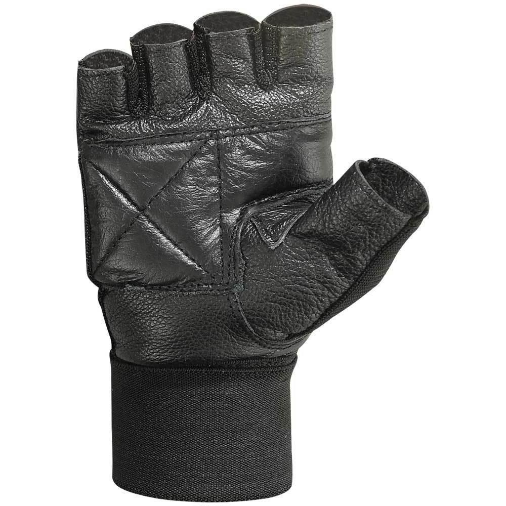 Weight Lifting Gloves Leather Fitness Glove Gym Training Exercise