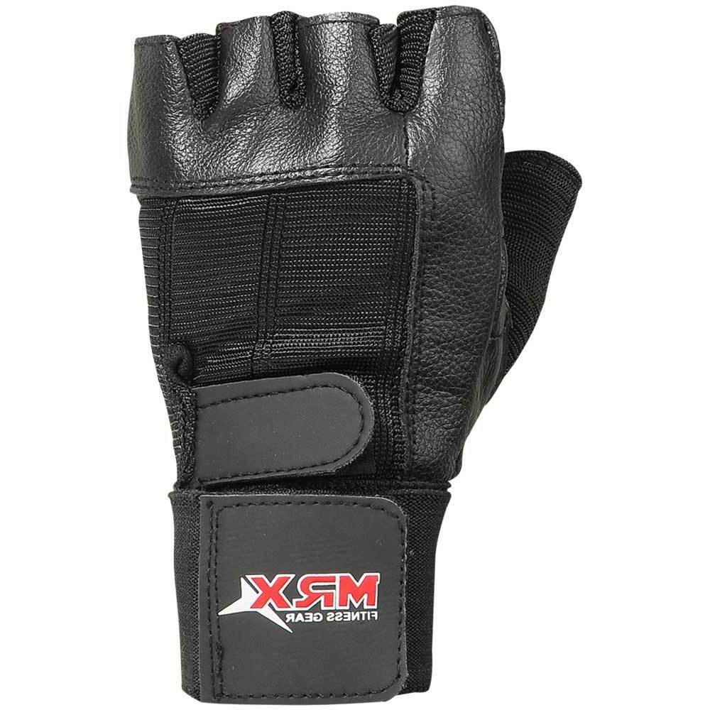 Weight Gloves Leather Fitness Glove Training Exercise