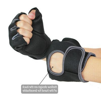 Half-Finger Training Fitness Wrist Wrap Workout Sports BJ