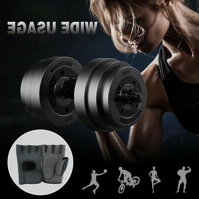 Weight Gloves Finger Wrap Workout Sports