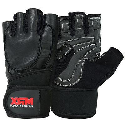 weight lifting gloves leather weightlifting gym training