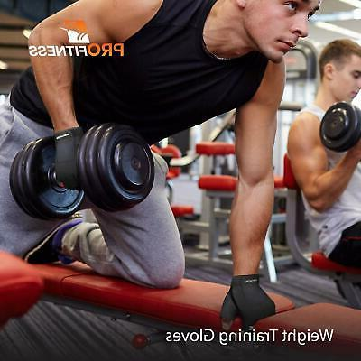ProFitness Weight Gloves Full Palm Durable