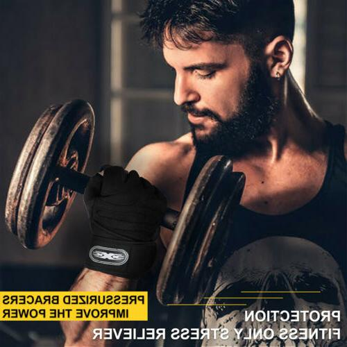 Fitness Lifting Gloves Gym Sports Workout Training Wrist