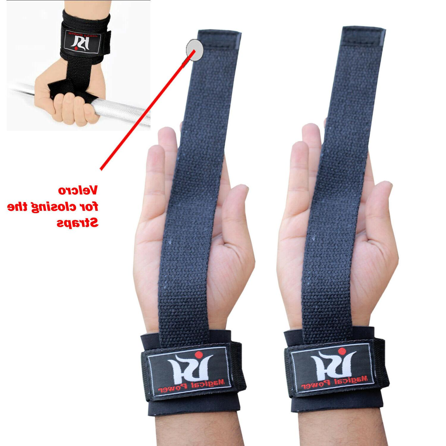 Weight Lifting Wraps Training Wrist Gloves Workout New