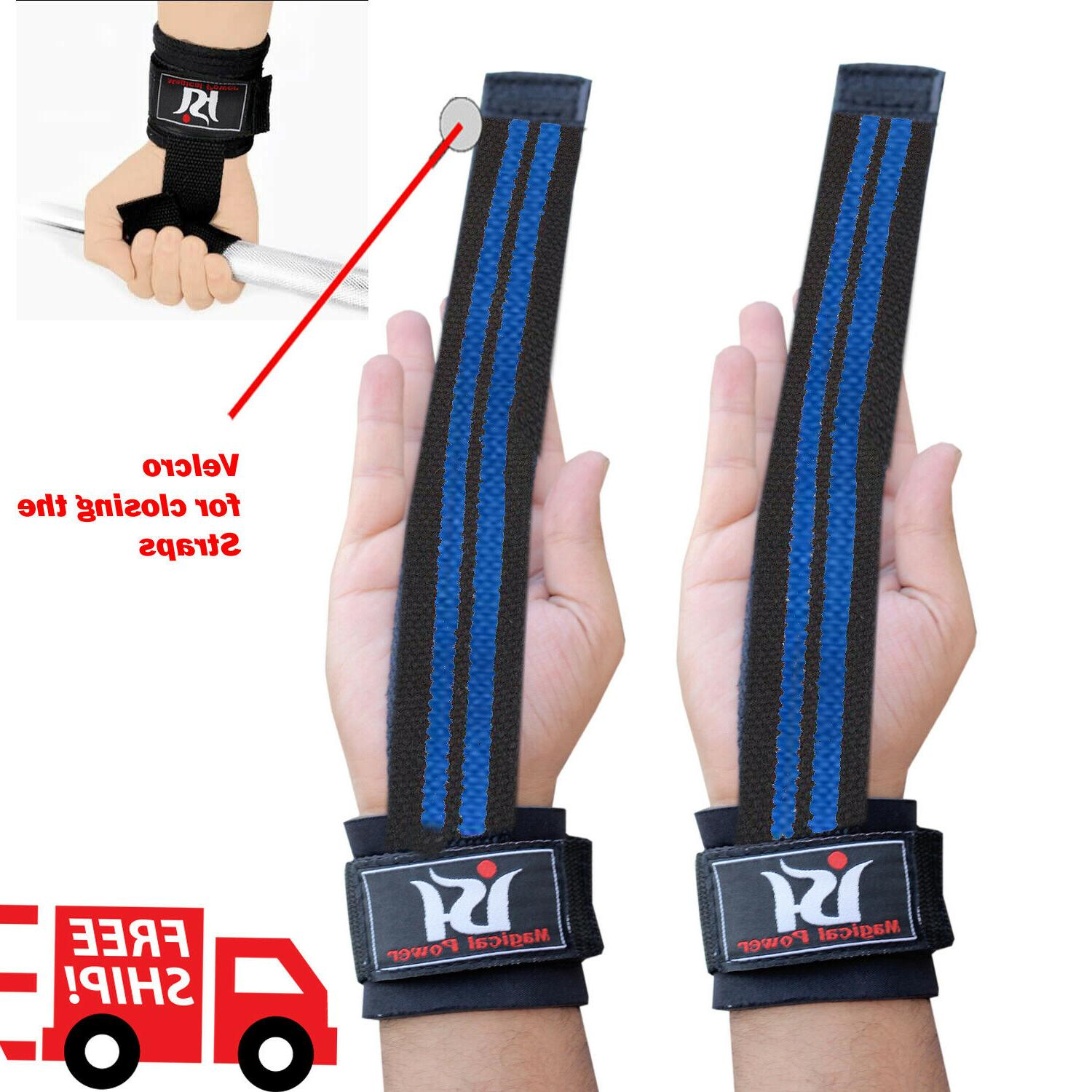 Weight Lifting Gym Wraps Gloves New