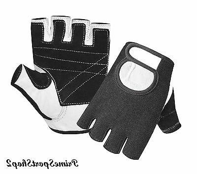 weight lifting padded gloves fitness training body