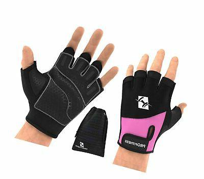 weight lifting workout gloves w non slip
